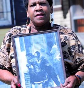 Mamie King Chalmers w iconic photo